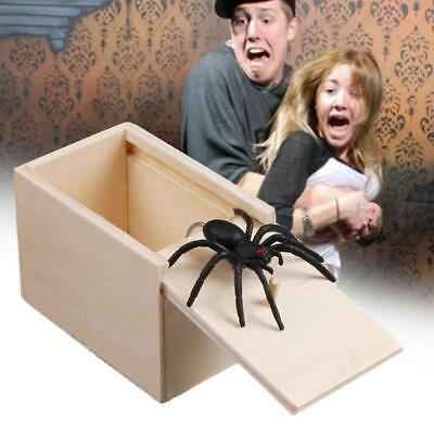 Prank Spider Hidden In Box Surprise Gift Scared Tricky Toy Box For Christmas Fun ()