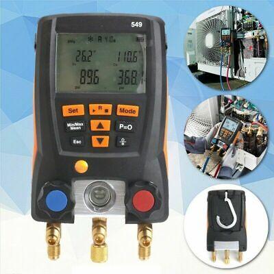 New Testo 549 Refrigeration Digital Manifold Hvac Gauge Meter System 0560 0550