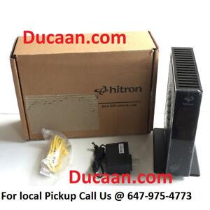 NEW Hitron CDA3 Gigabit Cable Modem for Teksavvy / Vmedia etc.