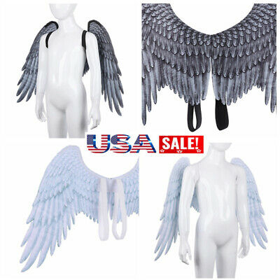 3D Angel Wings Halloween Mardi Gras Theme Party Costume Cosplay Decoration US