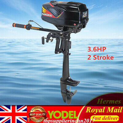 New 3.6HP 2 Stroke Short shaft Outboard Motor Boat Engine CDI System UK