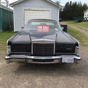 ***1978 Lincoln Town Car- Never winter driven***