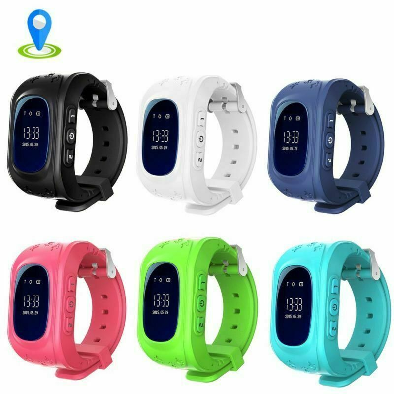 Kinder GPS-Telefon Uhr Armbanduhr Smart Watch Wasserdicht Tracker Smartwatch DHL