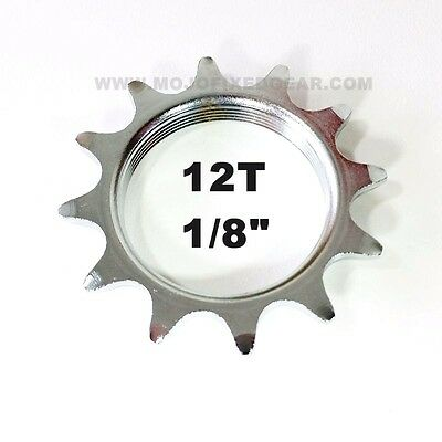"""18T FIXED GEAR COG 18 TOOTH 1//8/"""" FIXIE TRACK CroMo"""