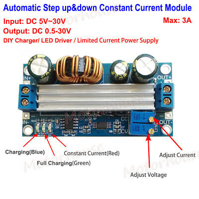 Dc Automatic Constant Voltage Constant Current Step-updown Charger Module Diy