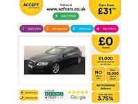 Black AUDI A6 AVANT ESTATE 2.0 3.0 TDI Diesel SPORTS LINE FROM £31 PER WEEK !