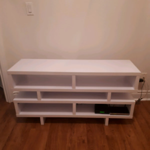 Tv stand with five shelves