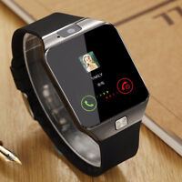 Smart watches with camera and Bluetooth, fitness tracker.