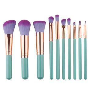 10Pcs-Professional-Make-Up-Brushes-Set-Foundation-Blush-Kabuki-Makeup-Brush-Tool