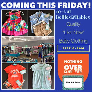 Free admission to BIG Used Baby Clothing Sale TODAY!!