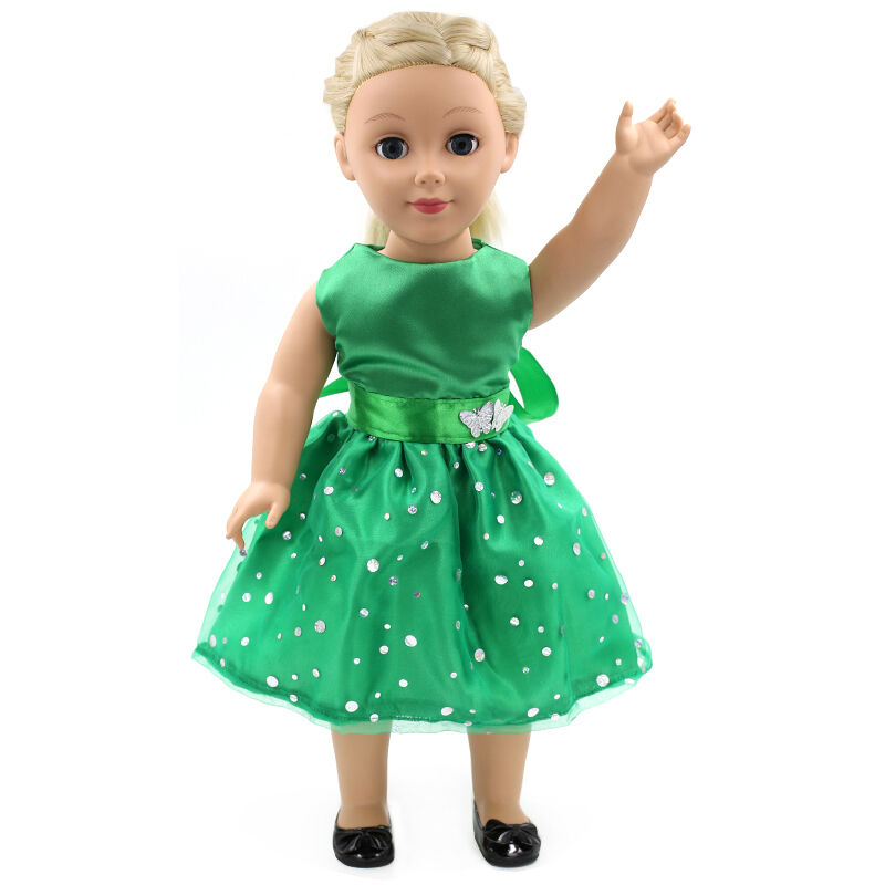 "Fits 18""  Girl  Doll  Handmade fashion Doll Clothes dress"