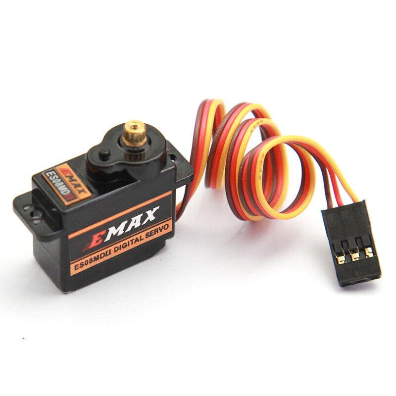 Axial SCX24 Upgrade Micro Servo Digital Metal Gear Coreless EMAX ES08MDII