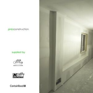 DRYWALL + TAPING RESIDENTIAL  l  COMMERCIAL