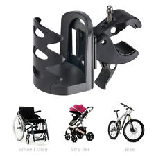 Universal Stroller Cup Holder Wheelchair Bike Bicycle Cycling Bottle Holder