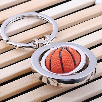 American Sports Keyring Baseball, Basketball Keychain 360 Spinning  LI