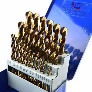 """29pcs HSS M42 Cobalt Jobber drill Sets,Gold, Fraction 1/16""""-1/2"""" Kitchener / Waterloo Kitchener Area image 2"""