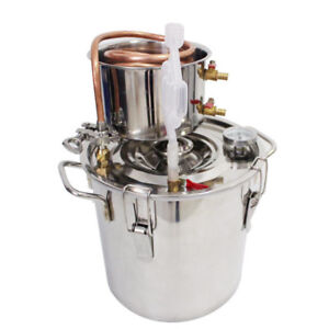 12L Alcohol Moonshine Water Copper Home Beer Wine Maker