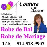 Couturière Repentigny,Montréal,terrebonne, ROBE DE BAL, MARIAGE