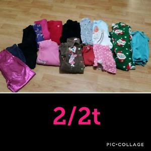 Girls 2/2t