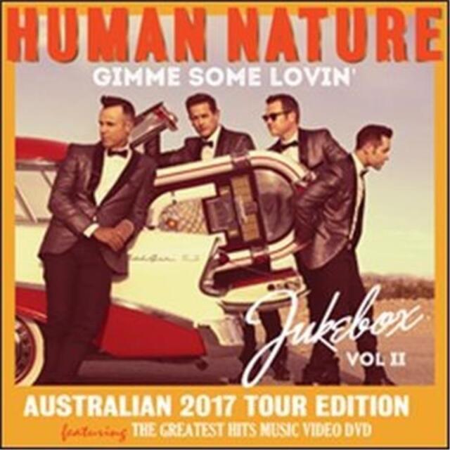 HUMAN NATURE Gimme Some Lovin' Jukebox Vol 2 Australian Tour Edition CD/DVD NEW