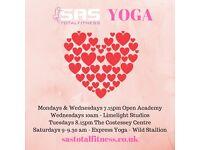 Yoga classes in Norwich