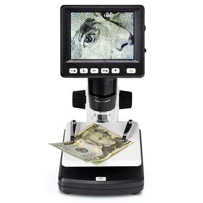1000x Digital Electronic Hdmi 3.5 Lcd 14mp Video Microscope Camera For Pc Mac