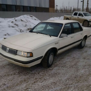 1990 Oldsmobile Cutlass - low kms - Steel and Sex Appeal