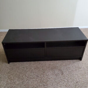 IKEA TV TABLE WITH DRAWERS