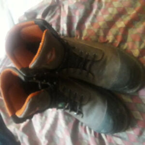 Workforce Vigilant Steel Toed Boots size 13