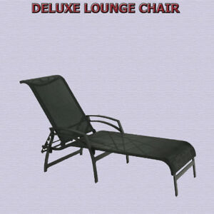 DELUXE MULTI-POSITION LOUNGE CHAIR - CHOCOLATE BROWN