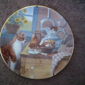 Country Kitties plate collection London Ontario image 3