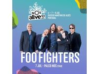 3-Day Ticket for NOS Alive Festival - 6, 7, 8 July - Portugal - Already Sold out