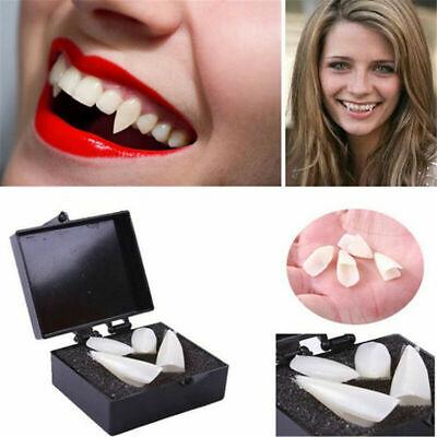 4 STÜCKE weiß Vampir Zähne Prothese Cosplay Kostüm - Vampir Requisiten