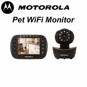 Motorola Pet Baby Monitor WIFI IP Camera With 3.5 inch Screen Carlisle Victoria Park Area Preview