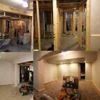 SHC! garage construction,  basement renovations.. BBB Accredited