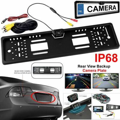 170° Car Rear View Reverse Camera Parking Number Plate Night Vision IR LED