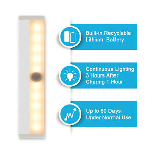Led Closet Light,Motion Sensor Light,Wireless Night Light