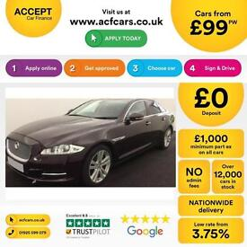Jaguar XJ Series FROM £99 PER WEEK!