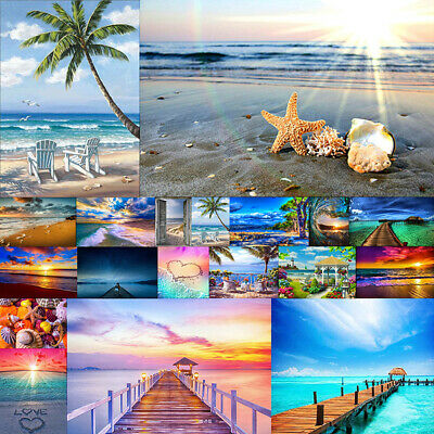 Full Drill Landscape DIY Diamond Painting Cross Stitch Embroidery Wall Gift US