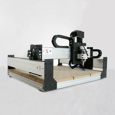 New 300w Spindle Desktop Cnc Router Engraving Carving Pcb 3-axis 400mm400mm