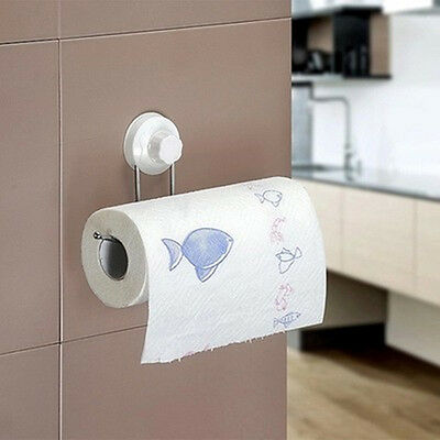 New Stylish Wall Mounted suction  Kitchen Paper Towel Holder