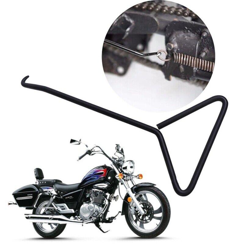 T-Handle Style Exhaust Stand Spring Hook Puller Tool Motorcycle Kart Bike Atv