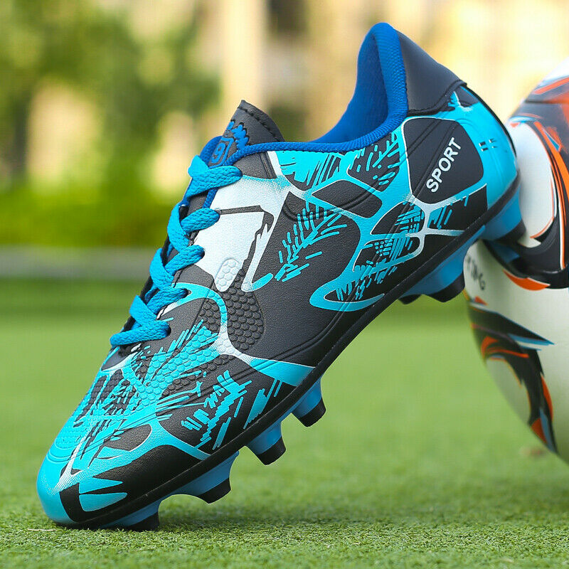 Kids Boys Soccer Shoes Outdoor Cleats Shoes Sneakers Men Tra