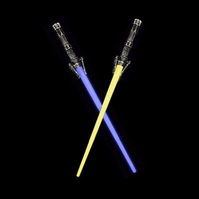 2Pcs Star Wars War FX Sound LightSaber Force Light Saber Sword Toy Cosplay - Star Wars Saber Sword