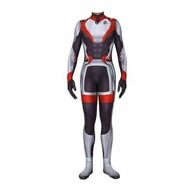 Girls Avengers Costumes (Avengers 4 Endgame Quantum Suit Costume Kids Boys Girls Halloween)