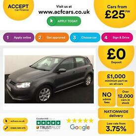 Volkswagen Polo 1.2TDI ( 75ps ) 2010MY SE FROM £25 PER WEEK!