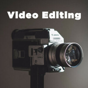 Video Editing Services by a Professional