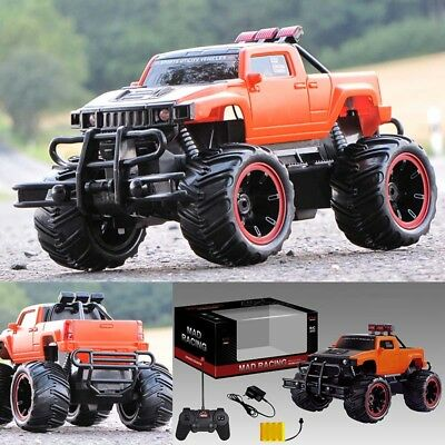 RC ferngesteuertes Auto Monstertruck Truck Pick up mit Akku Ladekabel 28 cm Lang