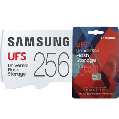 Genuine SAMSUNG UFS 256GB Memory Card MB-FA256G