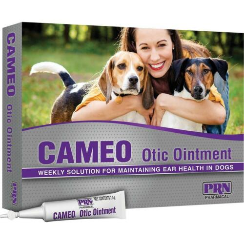 CAMEO Otic Ointment for DOGS 2.5ml (8 count) EAR Health Treatment 1 MONTH Supply